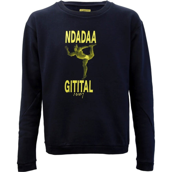 "Nachtdigital ""Bunga Bunga"" yellow Sweater Unisex"