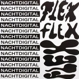 Various Artists - Nachtdigital Flex Vinyl Innenseite 2