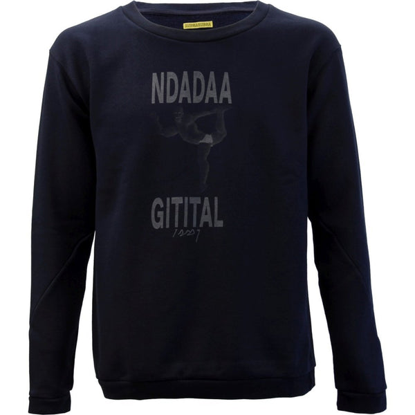 "Nachtdigital ""Bunga Bunga"" grey Sweater Unisex"