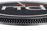 Nachtdigital Turntable Wanduhr
