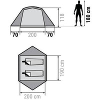 rent your tent -> 2-people tent