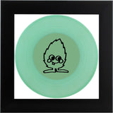 ND Artefakte Mini No.17 - Glow in the Dark Vinyl - schwarzer Rahmen - black Minti