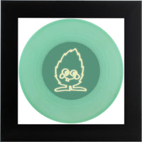 ND Artefakte Mini No.17 - Glow in the Dark Vinyl - schwarzer Rahmen - glow Minti