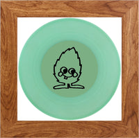 ND Artefakte Mini No.17 - Glow in the Dark Vinyl - rosenholz Rahmen - black Minti