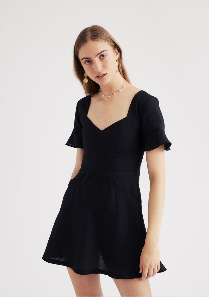Gretel Dress in Black