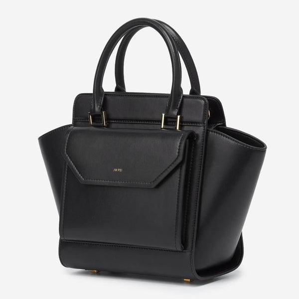 JW PEI Channon Vegan Leather Bag - Black