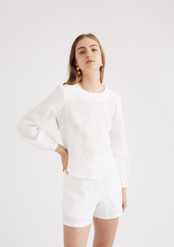 Milly Blouse in White