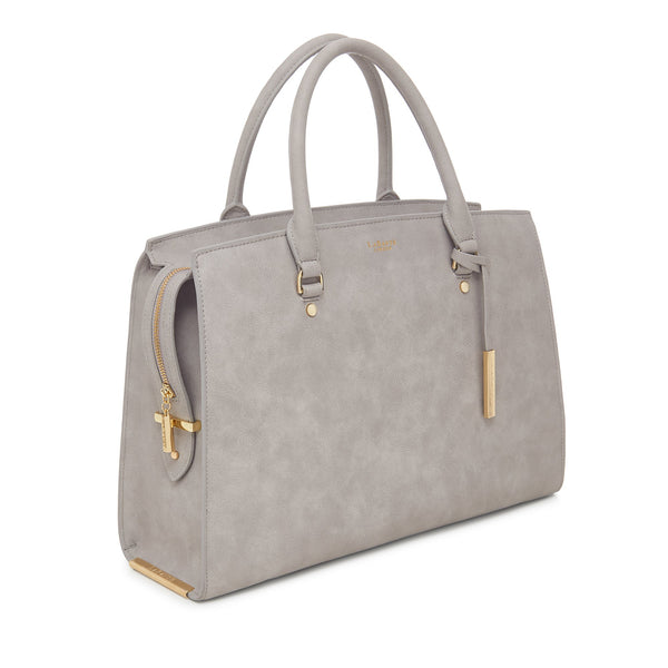 LaBante London Aricia Carryall Vegan Leather Tote - Gray