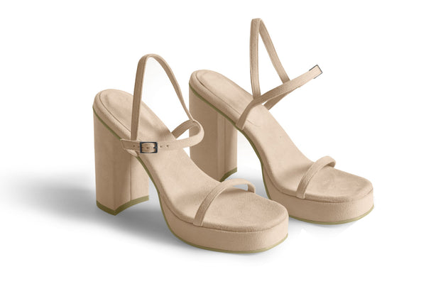 The Boogie Sandal - Beige