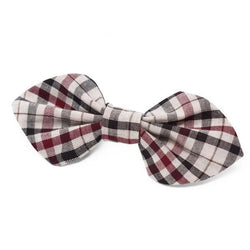 Modern Beast Bowtie in Classic Plaid