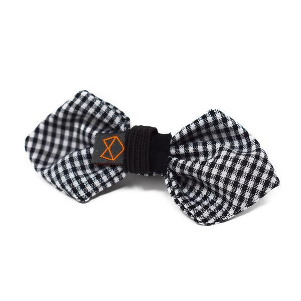 Modern Beast Bowtie in Black Gingham