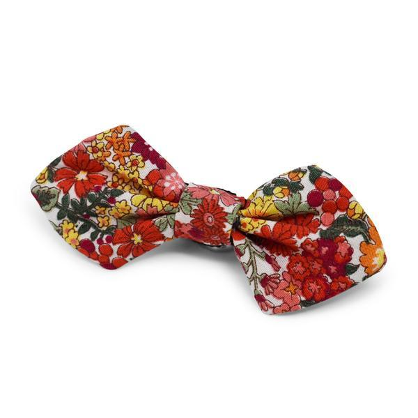Modern Beast Bowtie in Red Floral