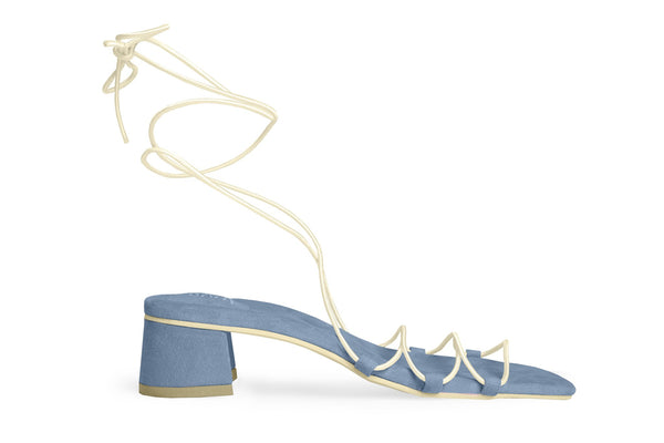The Flex Vegan Sandal - Azur