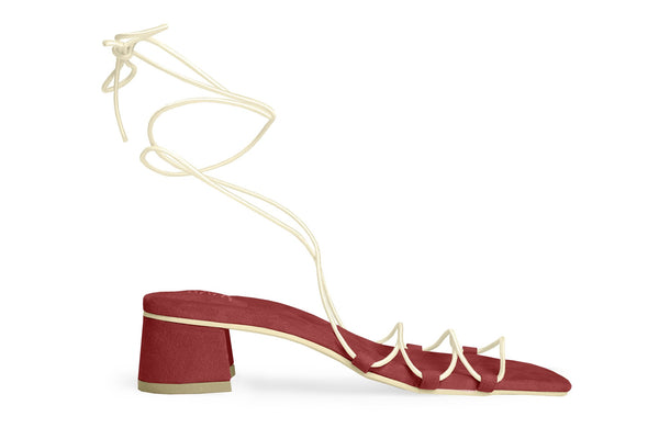 The Flex Vegan Sandal - Ruby