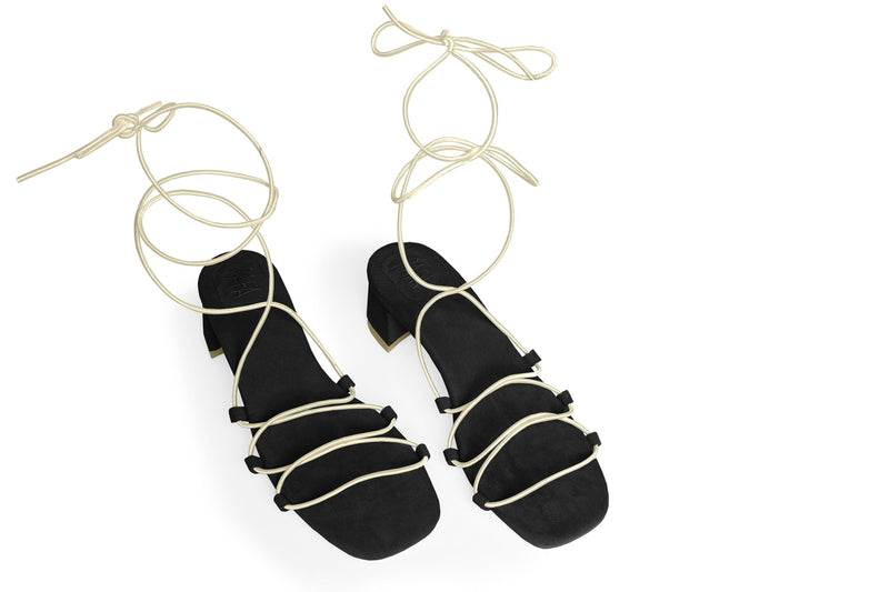 The Flex Vegan Sandal - Black