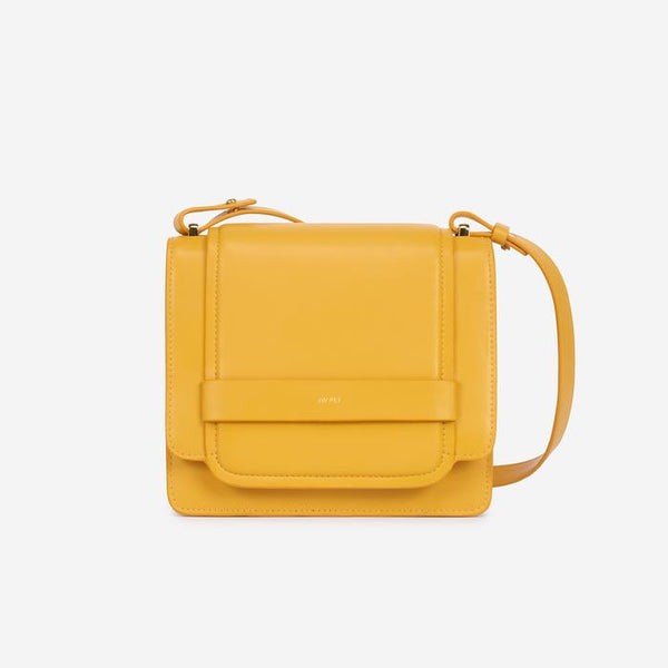 JW PEI Fiona Vegan Leather Crossbody - Mustard