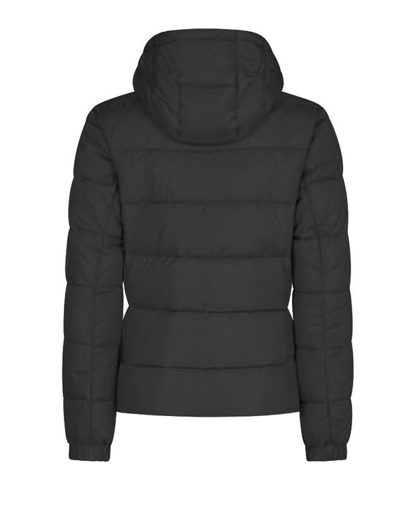 Women's Mega Hooded Jacket - Black