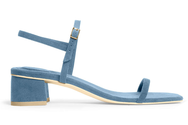 The Milli Vegan Sandal - Azur