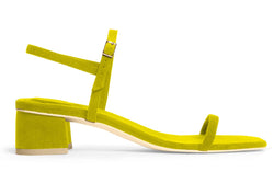 The Milli Vegan Sandal - Citrine