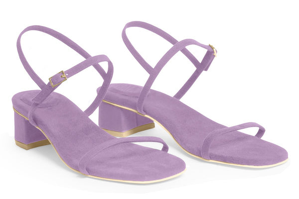 The Milli Vegan Sandal - Lavender
