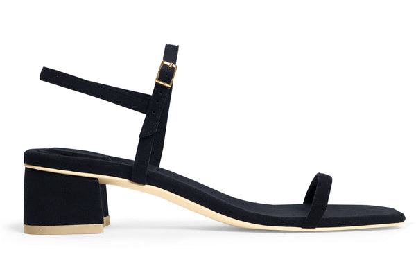 The Milli Vegan Sandal - Black