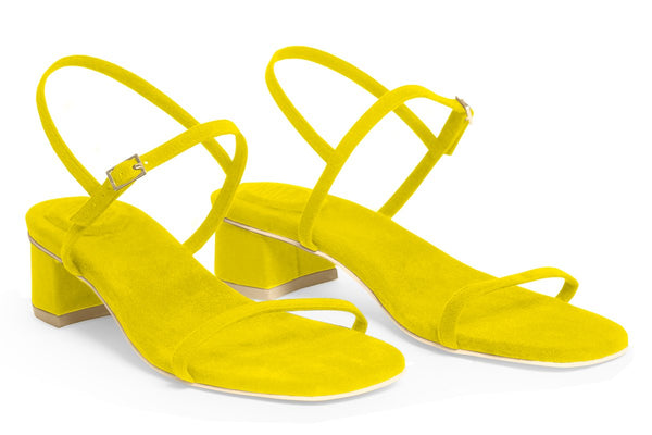 The Milli Vegan Sandal - Yellow