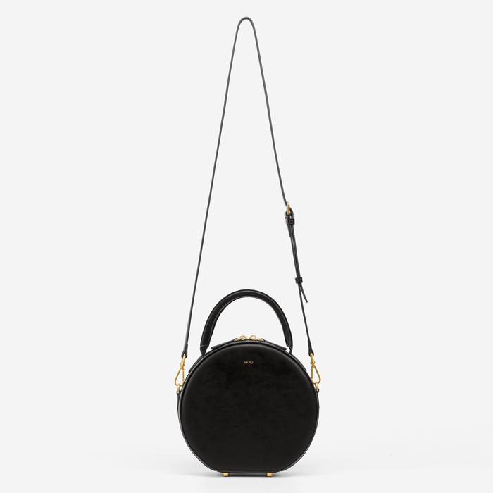 JW PEI Vegan Leather Circle Crossbody - Black