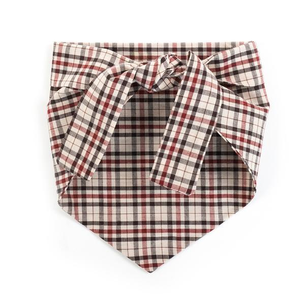 Modern Beast - Bandana in Classic Plaid
