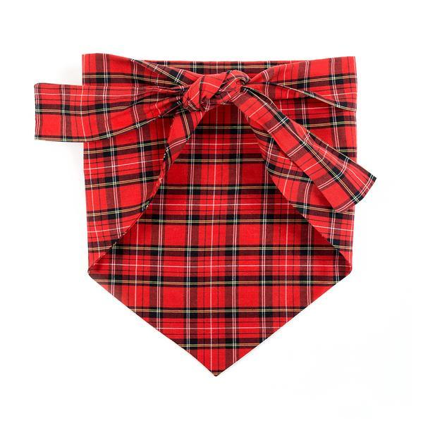 Modern Beast - Bandana in Red Plaid
