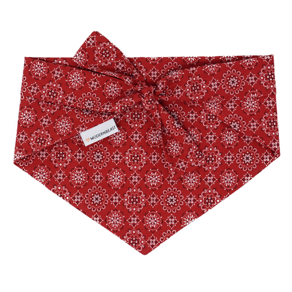 Modern Beast - Bandana in Classic Red