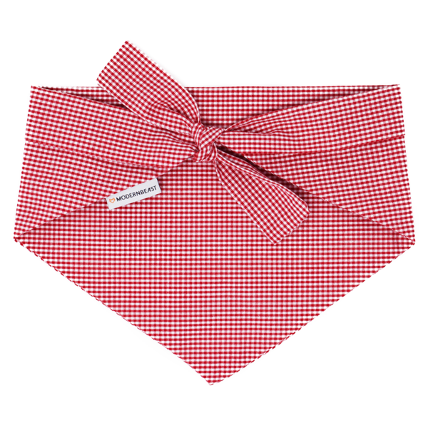 Modern Beast - Bandana in Red Gingham