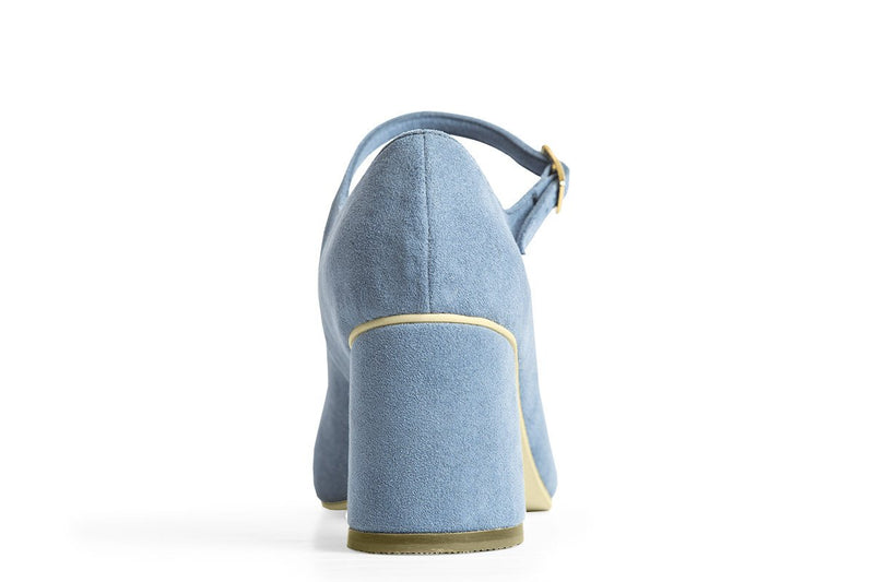 The Skipper Vegan Heel - Azur