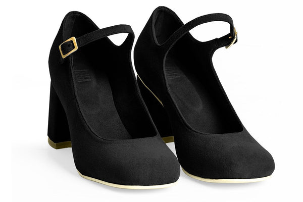 The Skipper Vegan Heel - Black