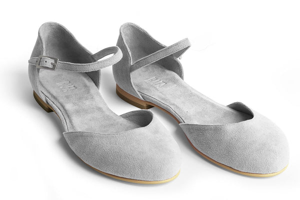 The Rambler Vegan Flat - Gray