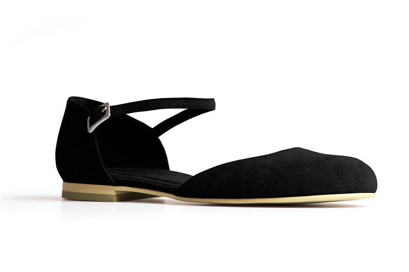 The Rambler Vegan Flat - Black
