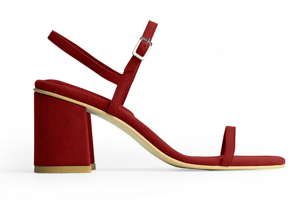 The Simple Vegan Sandal - Ruby