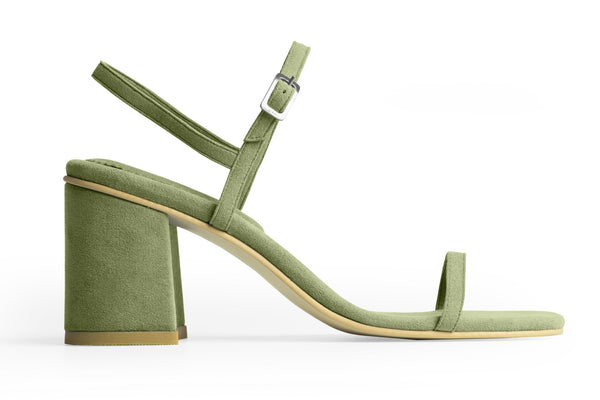 The Simple Vegan Sandal - Vert