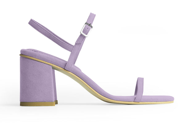 The Simple Vegan Sandal - Lavender