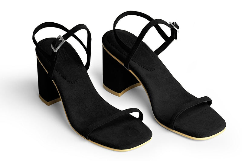 The Simple Vegan Sandal - Black