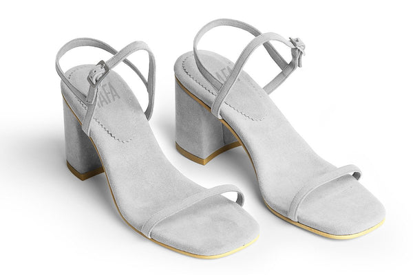 The Simple Vegan Sandal - Gray