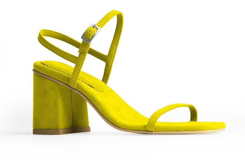 The Simple Vegan Sandal - Citrine