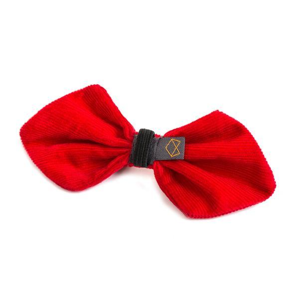 Modern Beast Bowtie in Red Corduroy