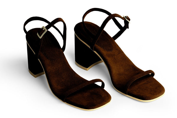 The Simple Vegan Sandal - Brown