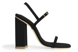 The Sky Vegan Sandal - Black