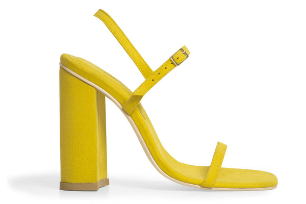 The Sky Vegan Sandal - Yellow