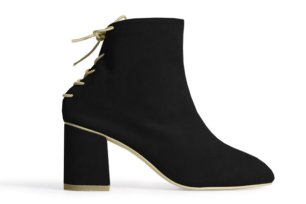 The Vegan Sock Boot - Black