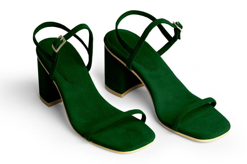 The Simple Vegan Sandal - Forest