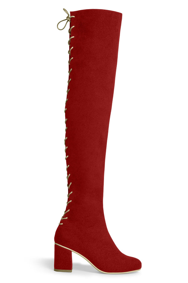 The Stick Vegan Boot - Ruby