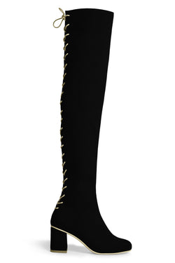 The Stick Vegan Boot - Black
