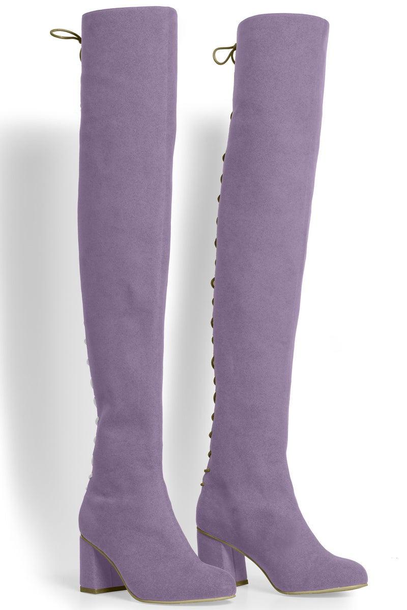 The Stick Vegan Boot - Lavender